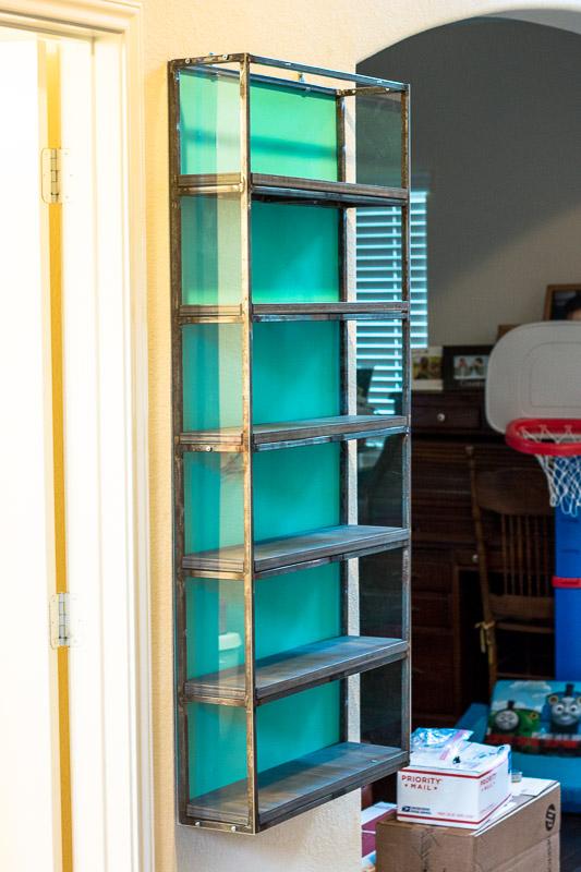 Willis Industrial Furniture | Rustic, Modern Furniture | Action Figure Shelf