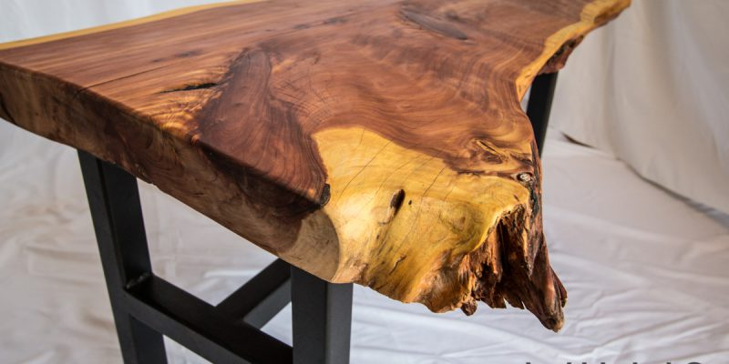 Large Cedar Table with Open Edge