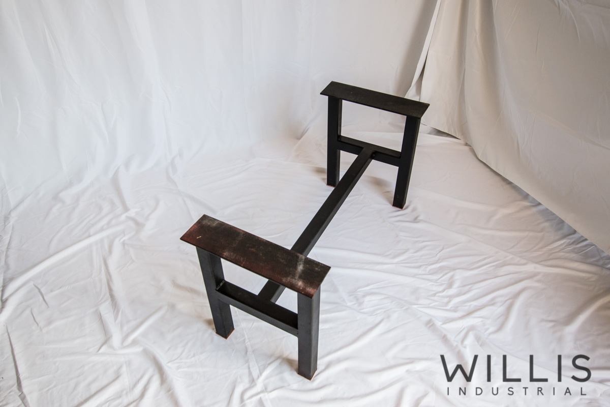 Willis Industrial Furniture | Rustic, Modern Furniture | Stand for Cedar Open Edge Table